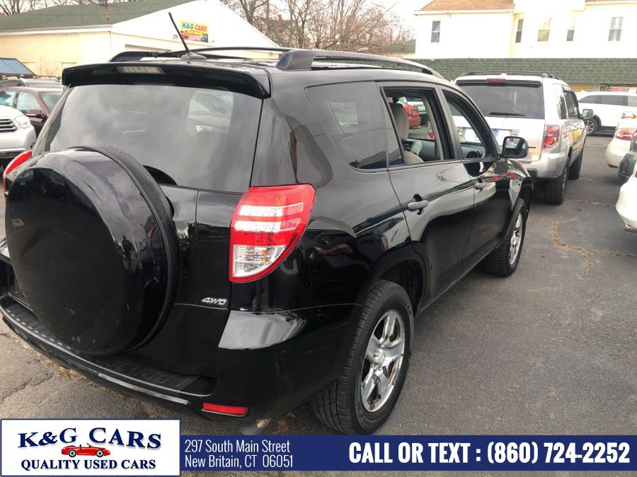 Used Toyota RAV4 4WD 4dr 4-cyl 4-Spd AT (GS) 2010 | K and G Cars . New Britain, Connecticut