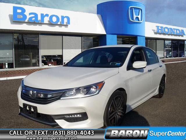 Used 2017 Honda Accord Sedan in Patchogue, New York | Baron Supercenter. Patchogue, New York