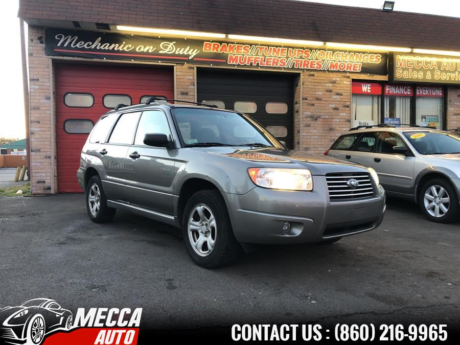 Used Subaru Forester 4dr 2.5 X Auto 2006 | Mecca Auto LLC. Hartford, Connecticut