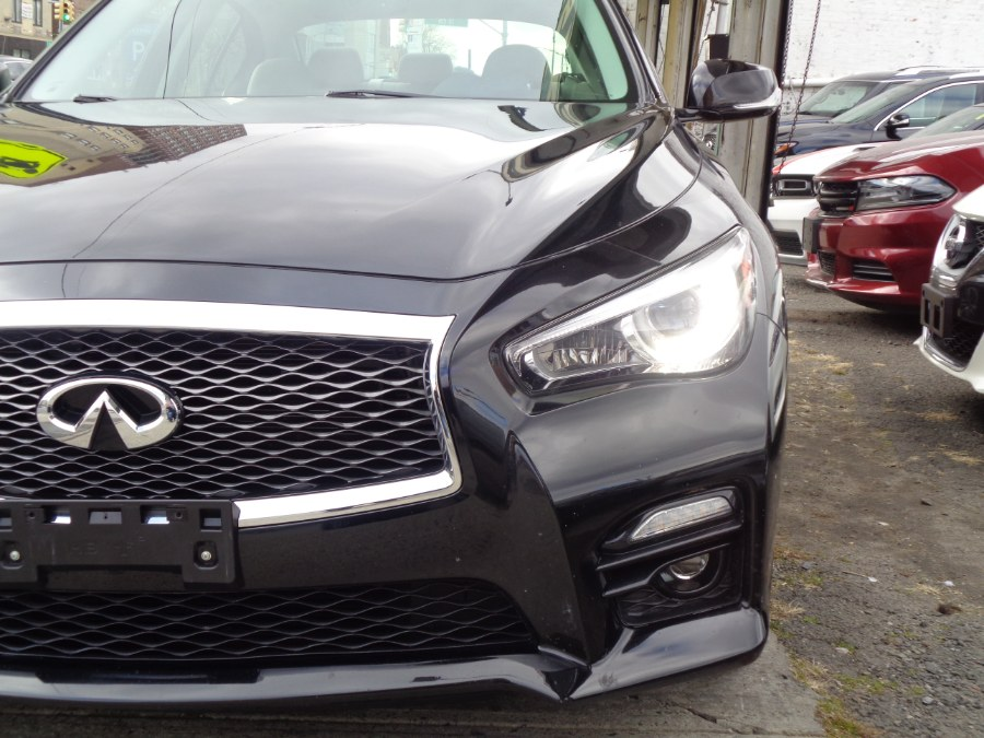 Used INFINITI Q50 3.0t AWD Sport 2016 | Top Speed Motors LLC. Jamaica, New York