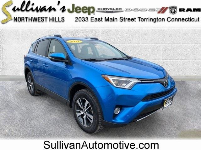 Used Toyota Rav4 XLE 2017 | Sullivan Automotive Group. Avon, Connecticut