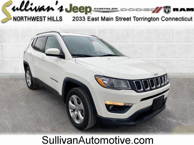 Used Jeep Compass Latitude 2019 | Sullivan Automotive Group. Avon, Connecticut
