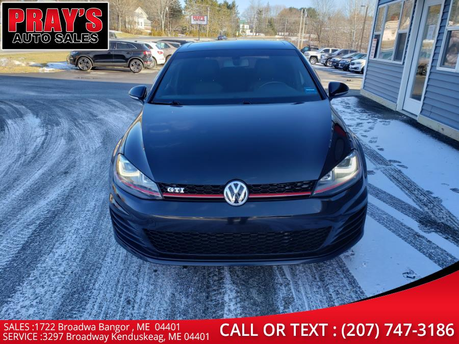 Used Volkswagen Golf GTI 2.0T 4-Door SE DSG 2017 | Pray's Auto Sales . Bangor , Maine