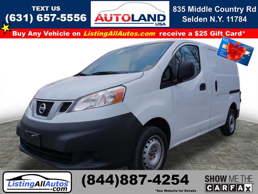 Used Nissan Nv200 S 2017 | www.ListingAllAutos.com. Patchogue, New York
