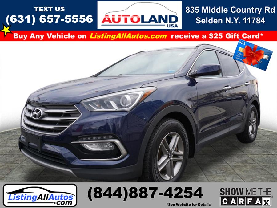 Used 2017 Hyundai Santa Fe Sport in Patchogue, New York | www.ListingAllAutos.com. Patchogue, New York