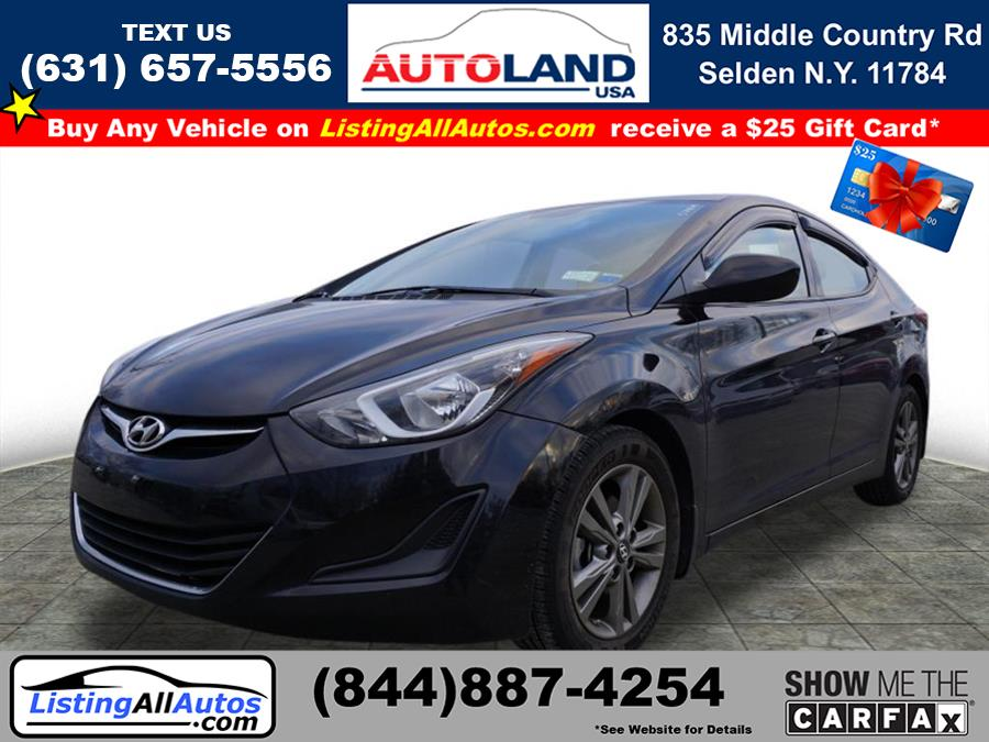Used 2016 Hyundai Elantra in Patchogue, New York | www.ListingAllAutos.com. Patchogue, New York