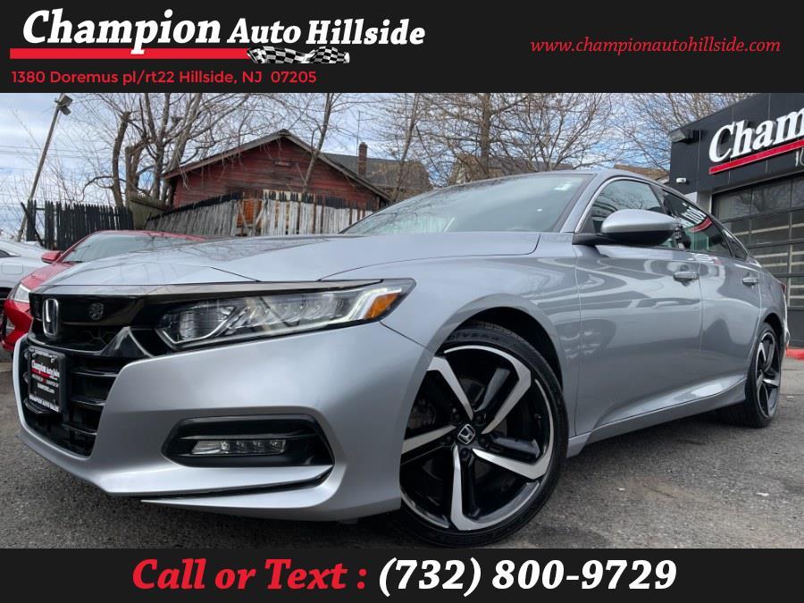 Used 2018 Honda Accord Sedan in Hillside, New Jersey | Champion Auto Sales. Hillside, New Jersey