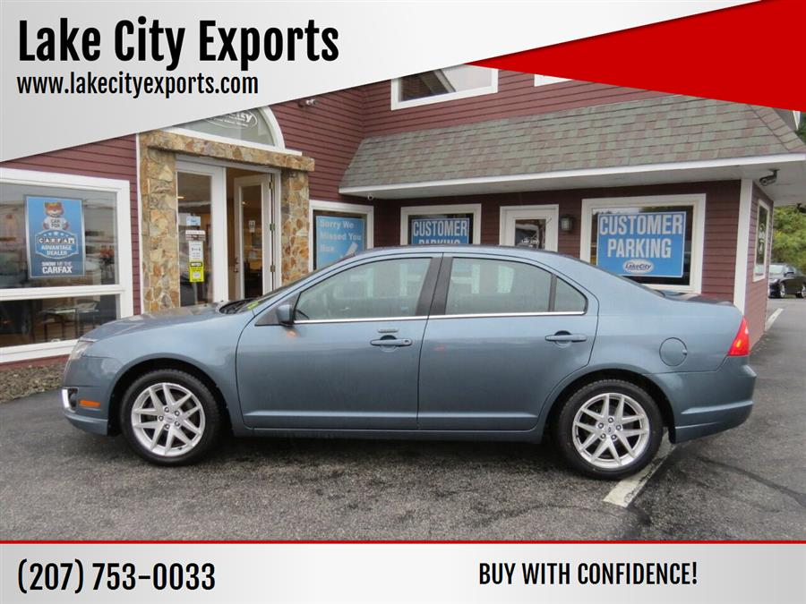 Used Ford Fusion SEL AWD 4dr Sedan 2012 | Lake City Exports Inc. Auburn, Maine