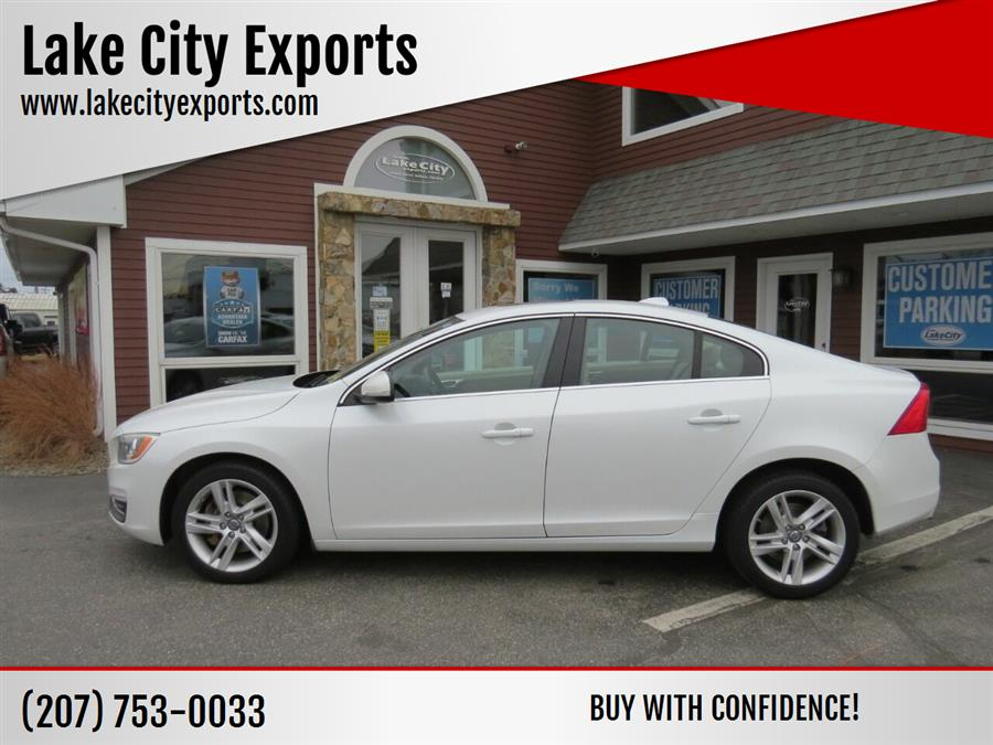 Used Volvo S60 T5 Premier AWD 4dr Sedan 2015 | Lake City Exports Inc. Auburn, Maine