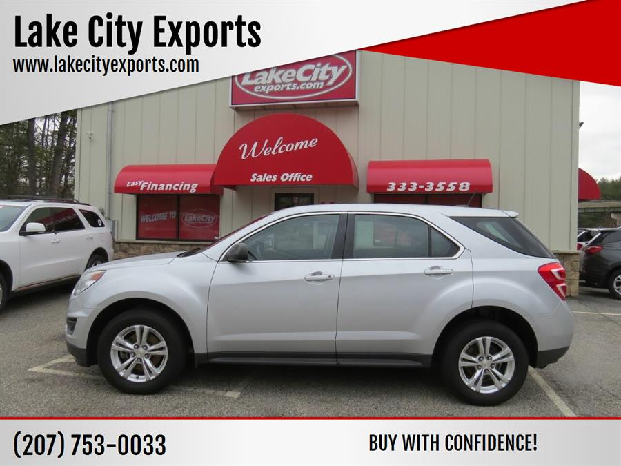 Used Chevrolet Equinox LS AWD 4dr SUV 2016 | Lake City Exports Inc. Auburn, Maine