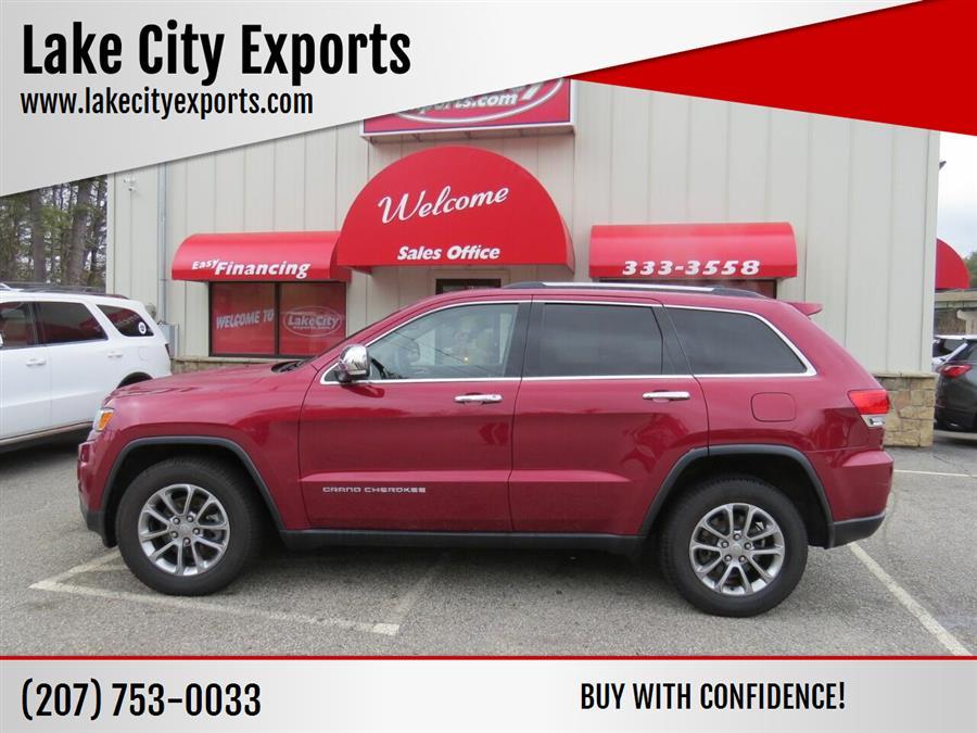 Used Jeep Grand Cherokee Limited 4x4 4dr SUV 2015   Lake City Exports Inc. Auburn, Maine