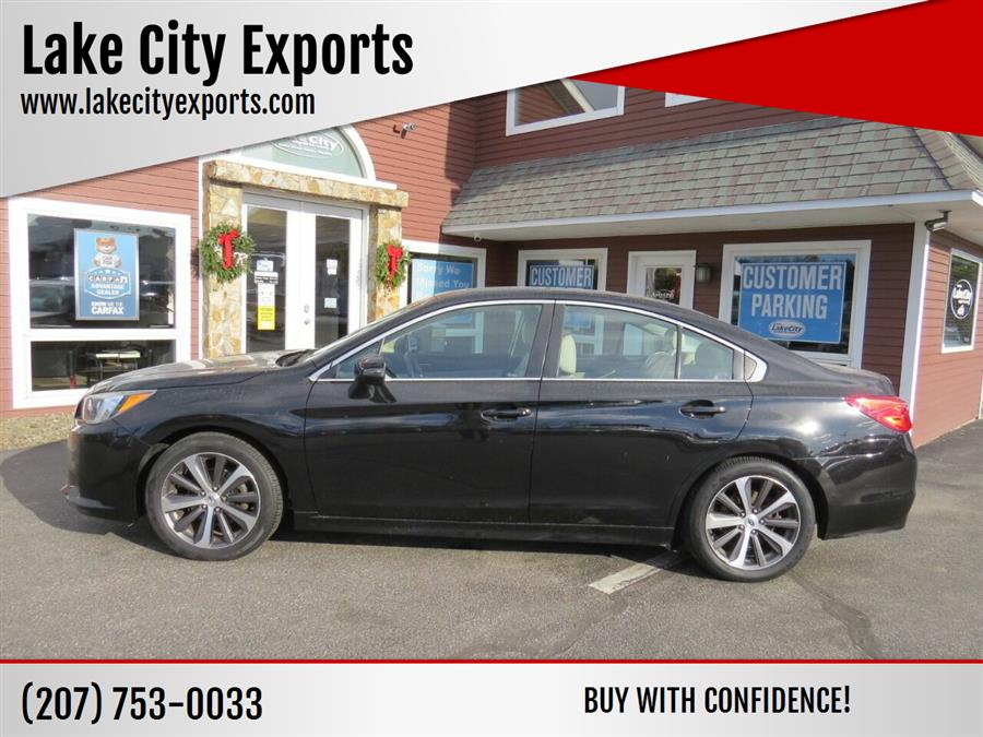 Used Subaru Legacy 2.5i Limited AWD 4dr Sedan 2015 | Lake City Exports Inc. Auburn, Maine