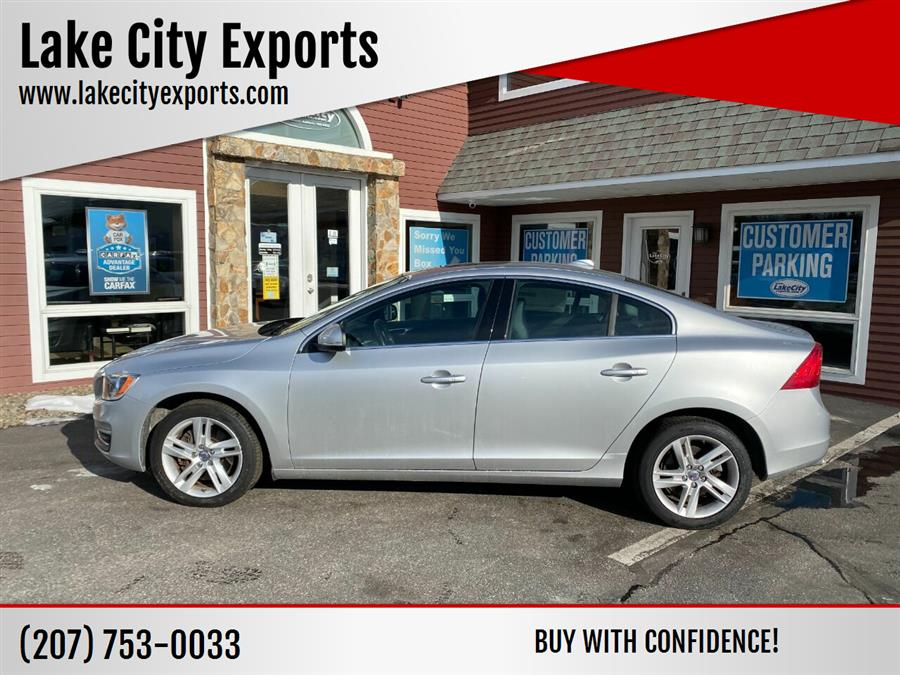 Used Volvo S60 T5 Premier AWD 4dr Sedan 2015 | Lake City Exports Inc. Auburn, Maine