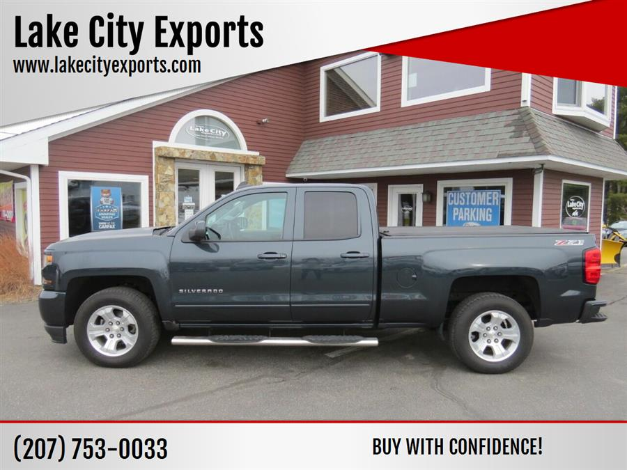 Used Chevrolet Silverado 1500 LT Z71 4x4 4dr Double Cab 6.5 ft. SB 2017 | Lake City Exports Inc. Auburn, Maine