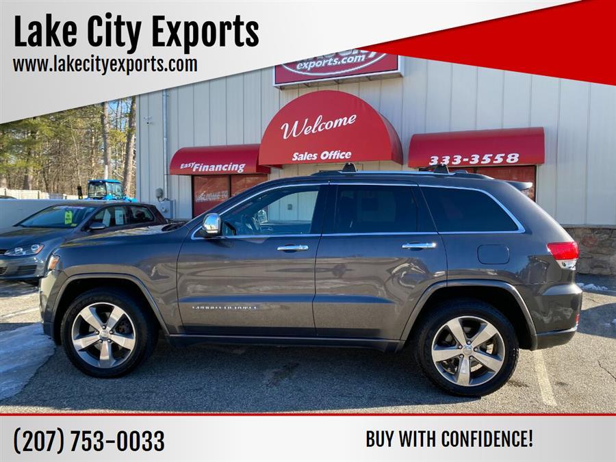 Used Jeep Grand Cherokee Overland 4x4 4dr SUV 2014 | Lake City Exports Inc. Auburn, Maine