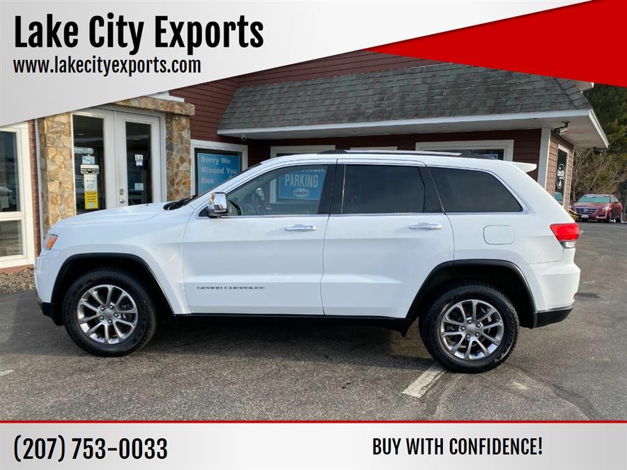 Used Jeep Grand Cherokee Limited 4x4 4dr SUV 2015 | Lake City Exports Inc. Auburn, Maine