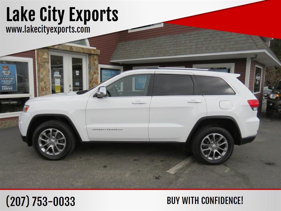 Used Jeep Grand Cherokee Limited 4x4 4dr SUV 2014 | Lake City Exports Inc. Auburn, Maine