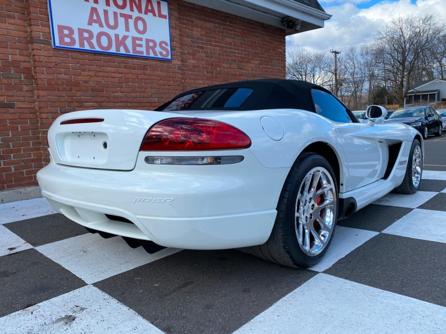 Used Dodge Viper 2dr Convertible SRT10 White Mamba 2004 | National Auto Brokers, Inc.. Waterbury, Connecticut