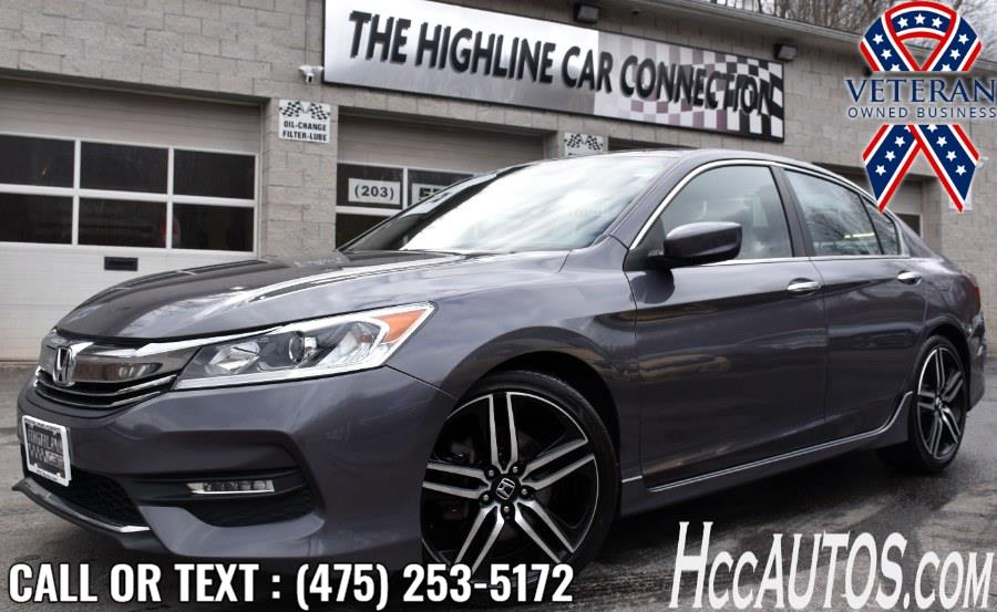Used 2017 Honda Accord Sedan in Waterbury, Connecticut | Highline Car Connection. Waterbury, Connecticut