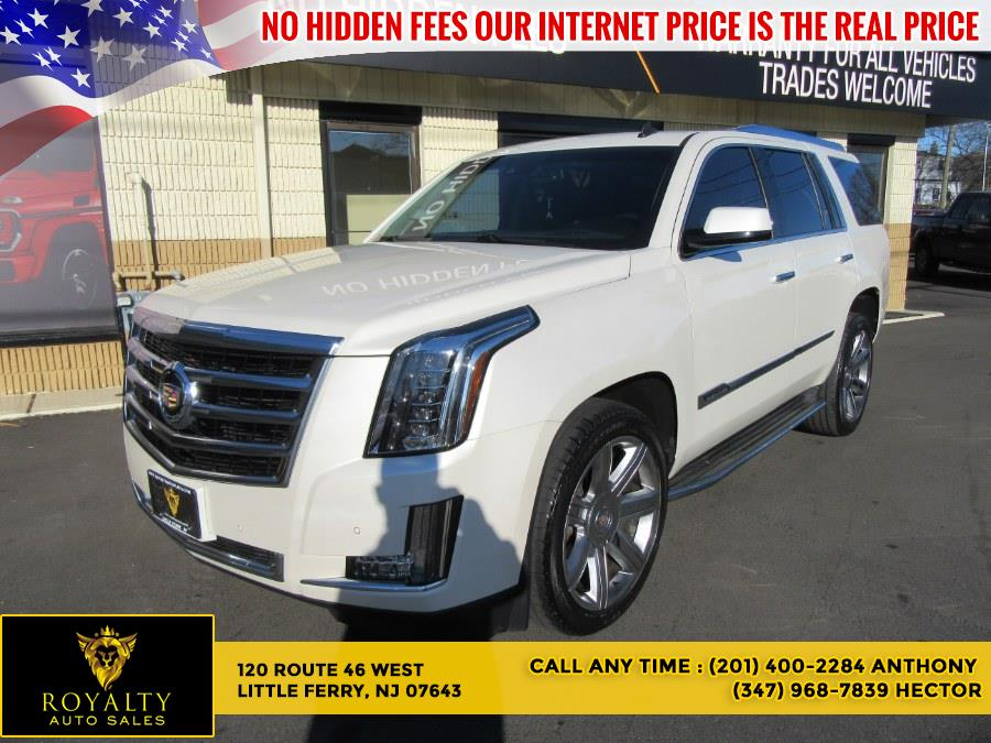 Used 2015 Cadillac Escalade in Little Ferry, New Jersey   Royalty Auto Sales. Little Ferry, New Jersey