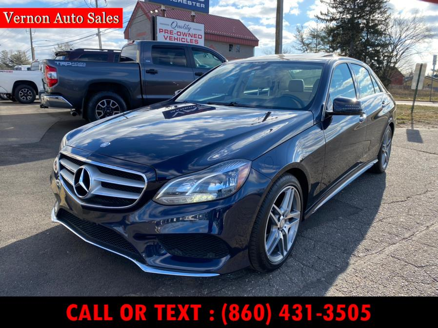 Used 2014 Mercedes-Benz E-Class in Manchester, Connecticut | Vernon Auto Sale & Service. Manchester, Connecticut