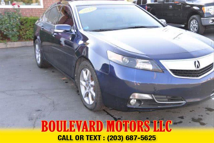Used Acura Tl Sedan 4D 2013   Boulevard Motors LLC. New Haven, Connecticut