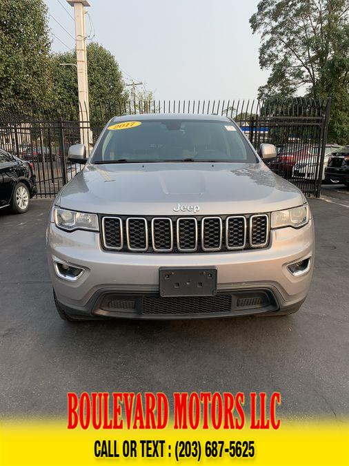 Used Jeep Grand Cherokee Laredo E Sport Utility 4D 2017 | Boulevard Motors LLC. New Haven, Connecticut