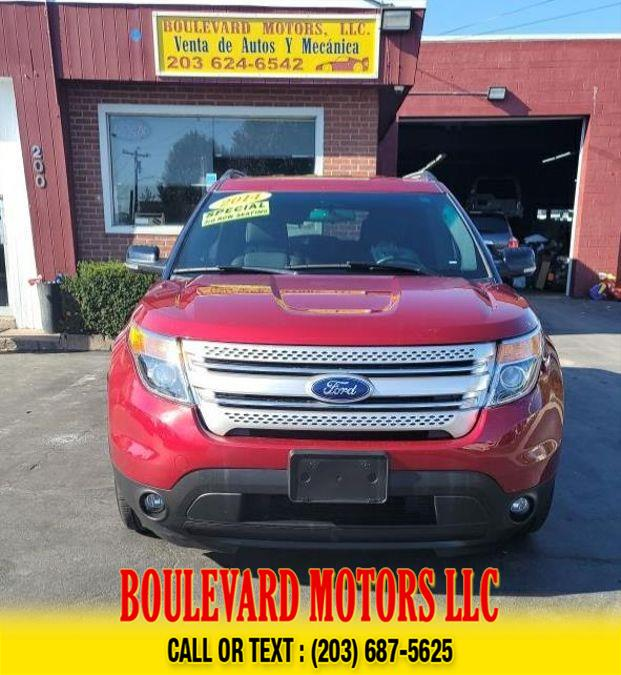 Used Ford Explorer XLT Sport Utility 4D 2014 | Boulevard Motors LLC. New Haven, Connecticut