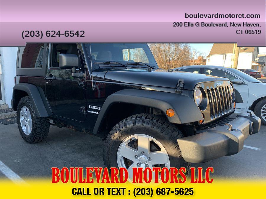 Used Jeep Wrangler Sport SUV 2D 2011 | Boulevard Motors LLC. New Haven, Connecticut