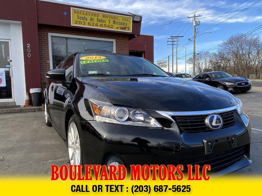 Used Lexus Ct CT 200h Hatchback 4D 2013 | Boulevard Motors LLC. New Haven, Connecticut