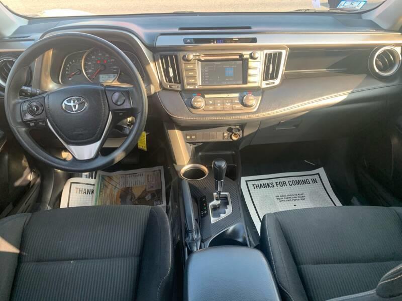 Used Toyota Rav4 XLE AWD 4dr SUV 2014 | Mass Auto Exchange. Framingham, Massachusetts