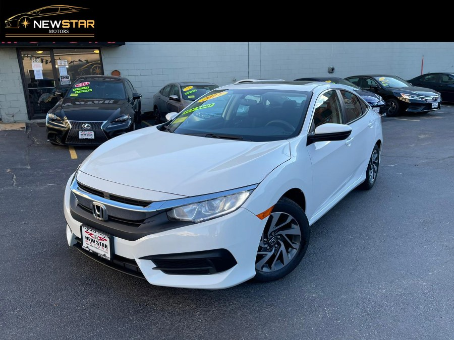 Used 2017 Honda Civic Sedan in Chelsea, Massachusetts | New Star Motors. Chelsea, Massachusetts