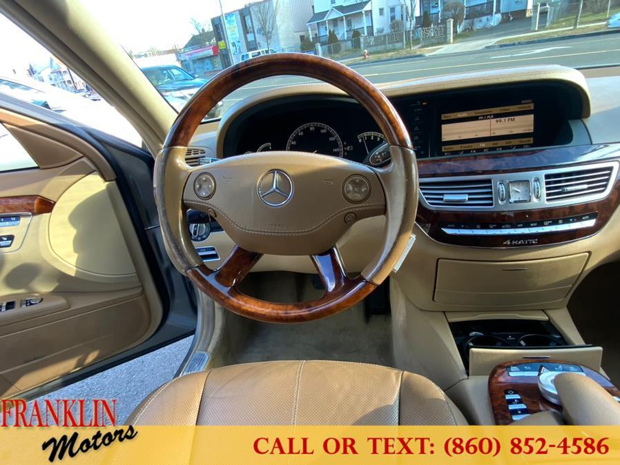 Used Mercedes-Benz S-Class 4dr Sdn 5.5L V8 4MATIC 2009 | Franklin Motors Auto Sales LLC. Hartford, Connecticut