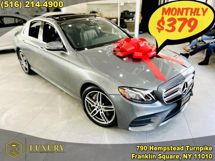 Used 2017 Mercedes-Benz E-Class in Franklin Square, New York | Luxury Motor Club. Franklin Square, New York
