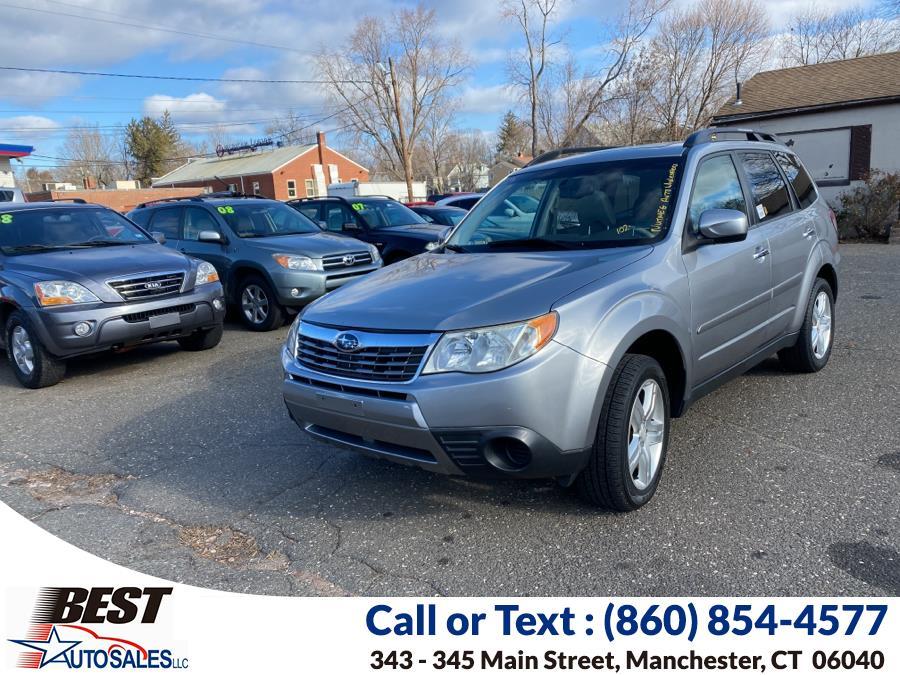 Used Subaru Forester (Natl) 4dr Auto X w/Premium Pkg PZEV 2009 | Best Auto Sales LLC. Manchester, Connecticut