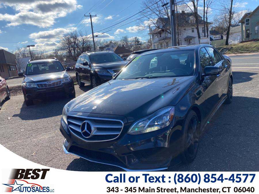 Used Mercedes-Benz E-Class 4dr Sdn E 350 Sport 4MATIC 2015 | Best Auto Sales LLC. Manchester, Connecticut