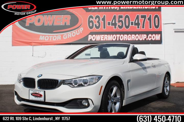 Used BMW 4 Series 2dr Conv 428i xDrive AWD 2015 | Power Motor Group. Lindenhurst , New York