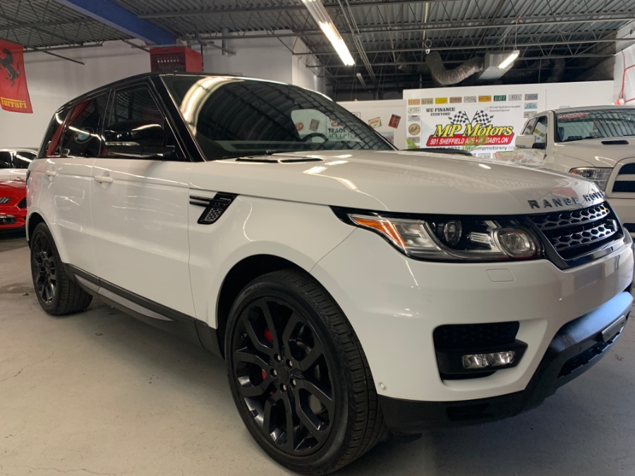 Used Land Rover Range Rover Sport 4WD 4dr Supercharged 2015 | MP Motors Inc. West Babylon , New York
