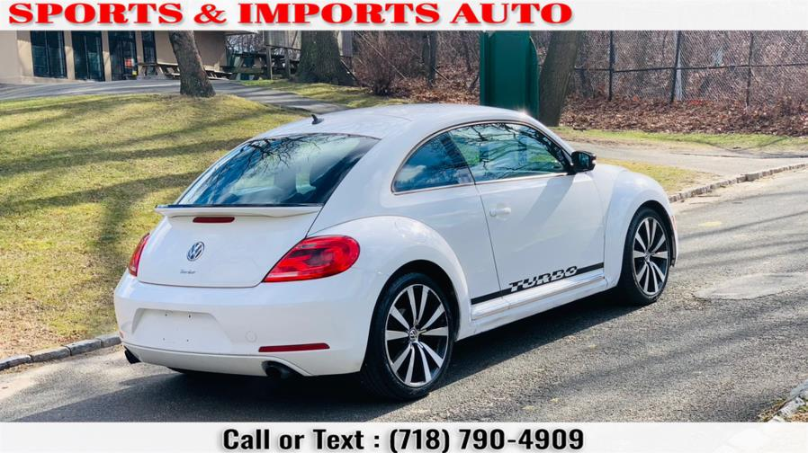 Used Volkswagen Beetle 2dr Cpe DSG 2.0T White Turbo Launch Edition PZEV 2012 | Sports & Imports Auto Inc. Brooklyn, New York