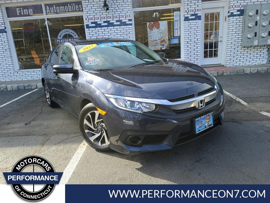 Used Honda Civic Sedan EX CVT w/Honda Sensing 2017 | Performance Motor Cars. Wilton, Connecticut