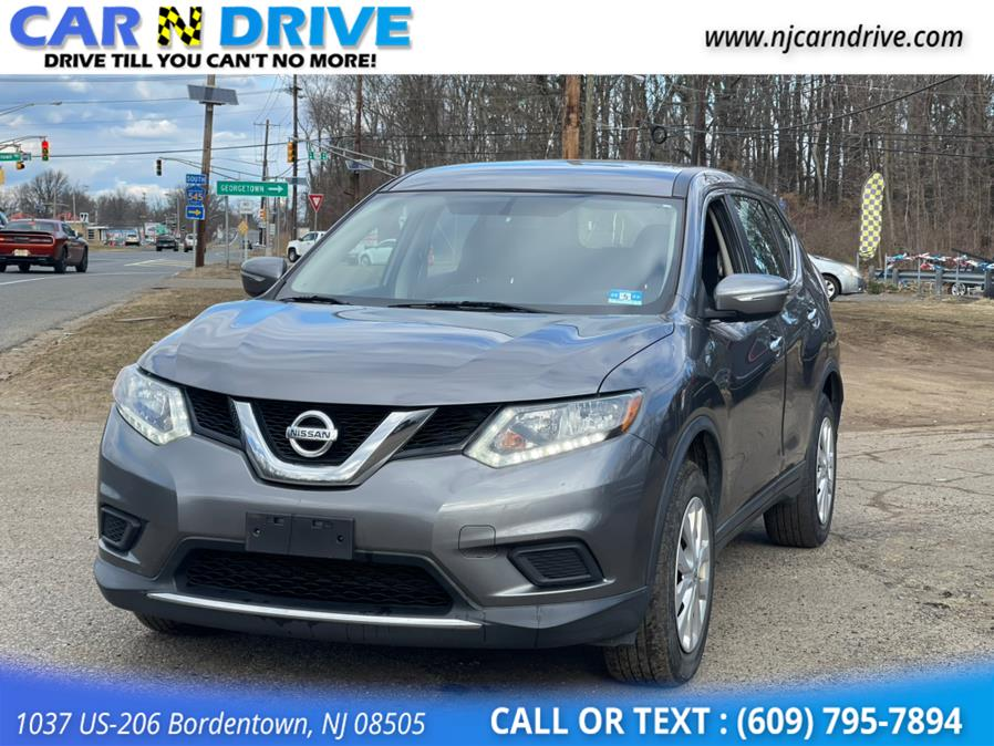 Used Nissan Rogue S AWD 2015 | Car N Drive. Bordentown, New Jersey
