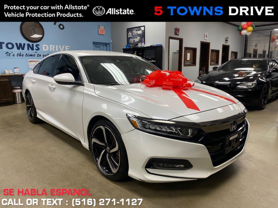 Used Honda Accord Sedan Sport 1.5T CVT 2018 | 5 Towns Drive. Inwood, New York