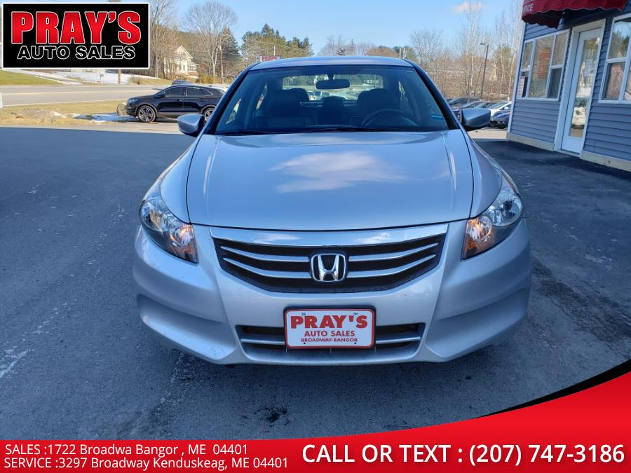 Used 2012 Honda Accord Sdn in Bangor , Maine | Pray's Auto Sales . Bangor , Maine