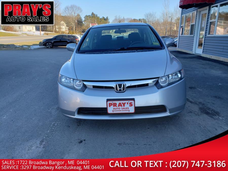 Used Honda Civic Hybrid 4dr Sdn 2007 | Pray's Auto Sales . Bangor , Maine