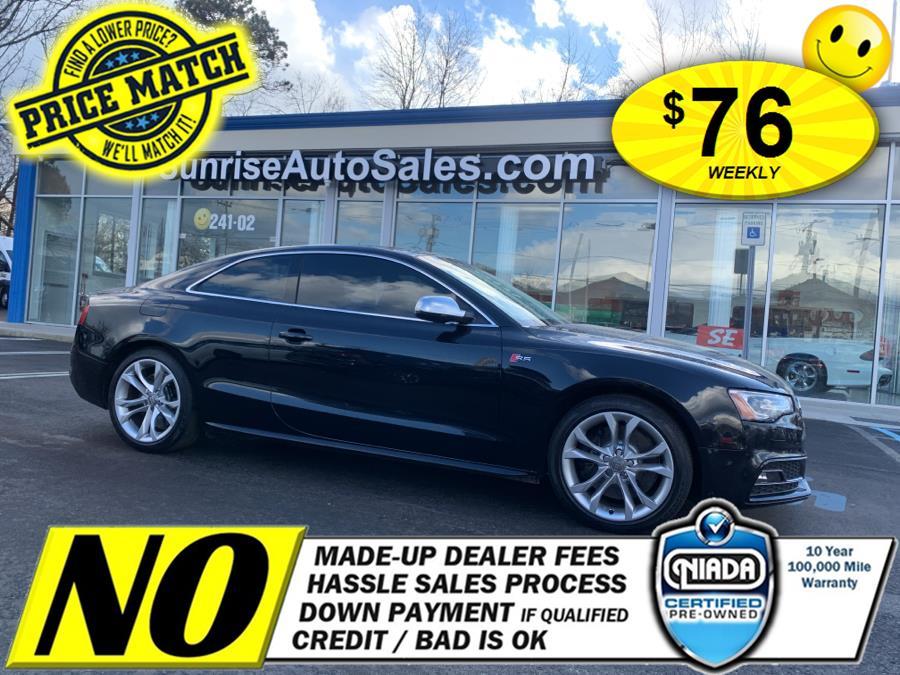 Used Audi S5 2dr Cpe Auto Prestige 2013 | Sunrise Auto Sales of Elmont. Elmont, New York