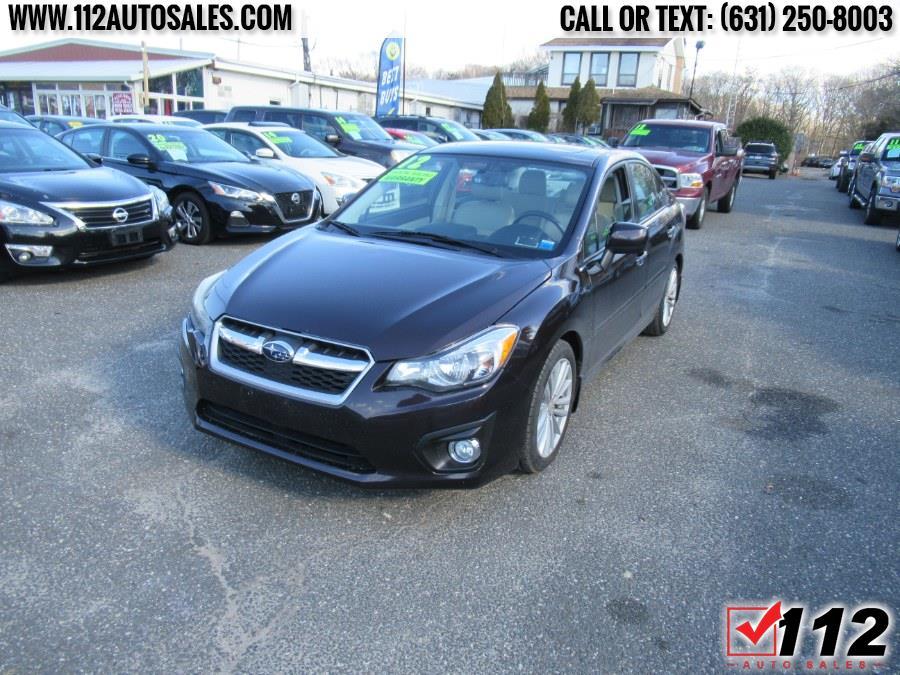 Used Subaru Impreza Sedan 4dr Auto 2.0i Limited 2012 | 112 Auto Sales. Patchogue, New York
