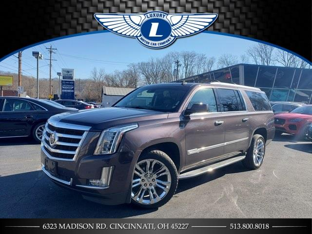 Used 2015 Cadillac Escalade Esv in Cincinnati, Ohio | Luxury Motor Car Company. Cincinnati, Ohio