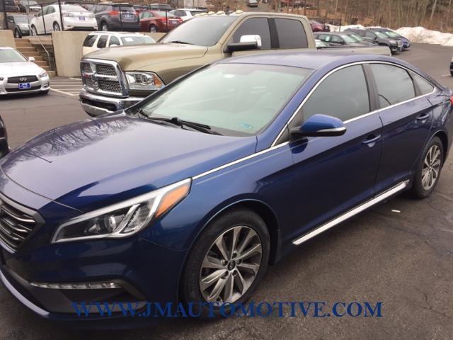 Used 2016 Hyundai Sonata in Naugatuck, Connecticut | J&M Automotive Sls&Svc LLC. Naugatuck, Connecticut