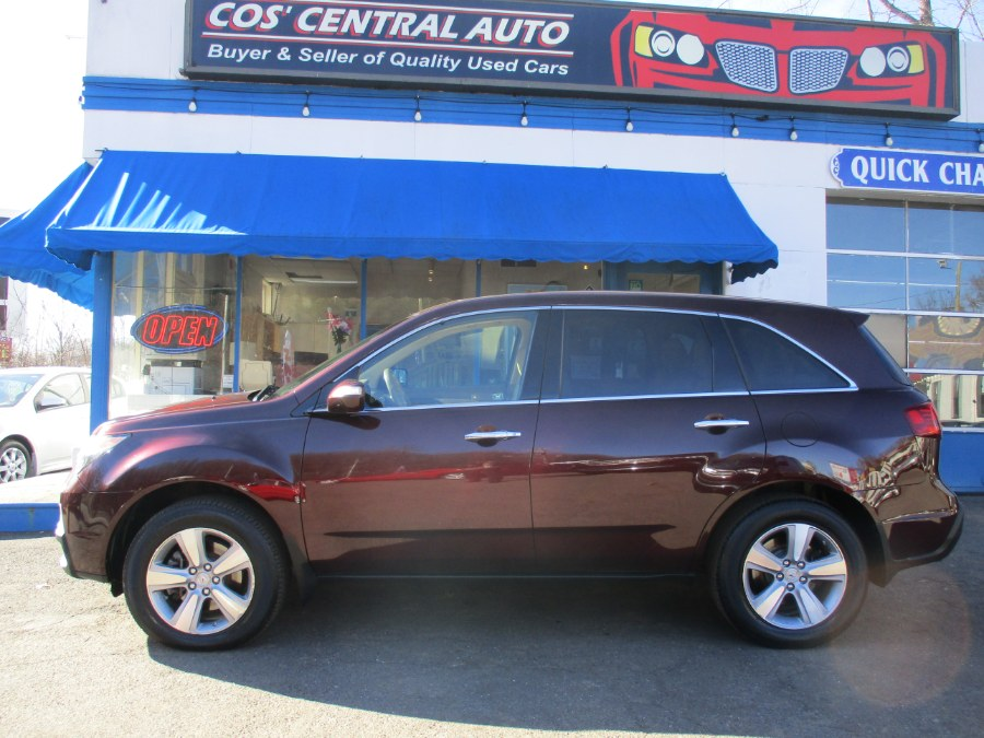 Used Acura MDX AWD 4dr Tech Pkg 2012 | Cos Central Auto. Meriden, Connecticut