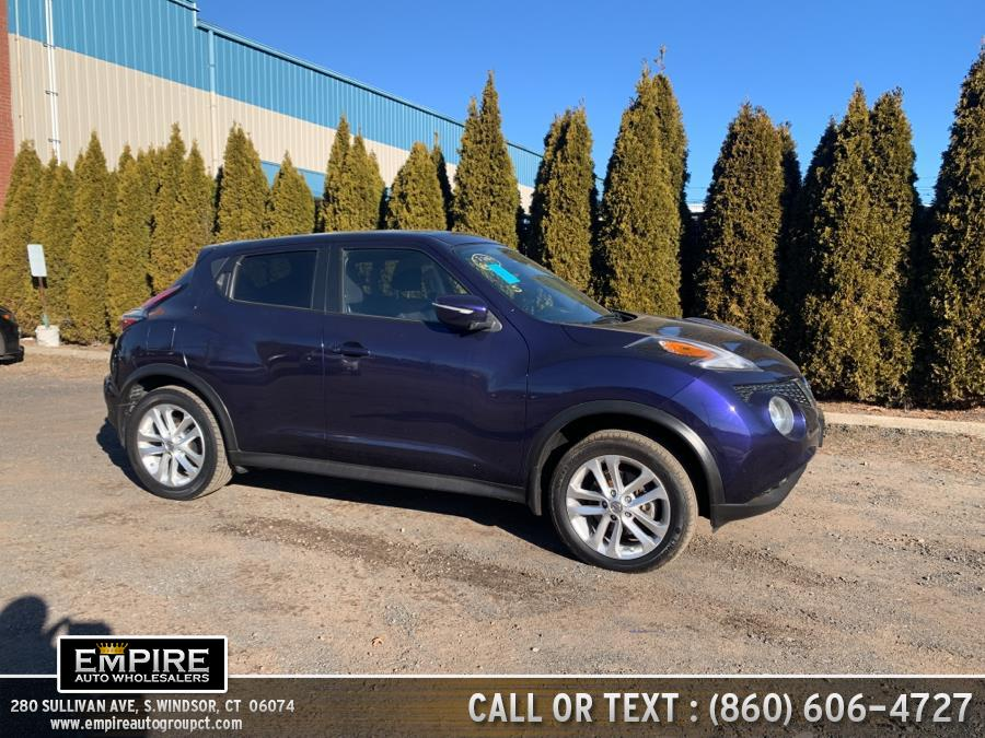 Used Nissan JUKE 5dr Wgn CVT SV AWD 2016 | Empire Auto Wholesalers. S.Windsor, Connecticut